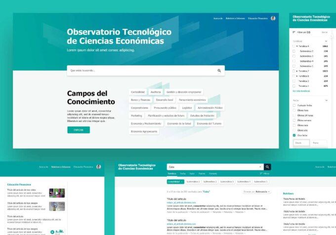 Diseño Observatorio Cubano de Ciencias Económicas