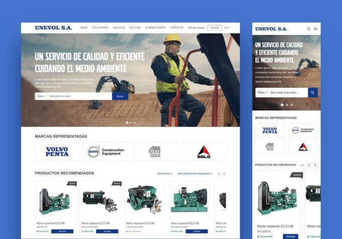 Portal Empresarial Unevol SA