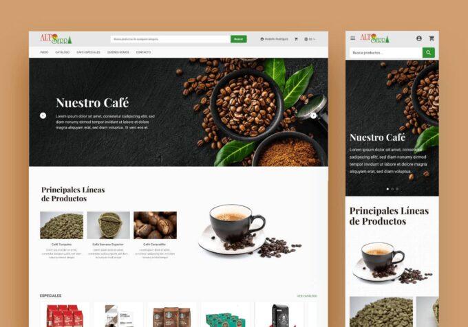 Portal Web Alto Serra